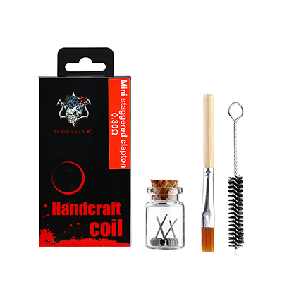 Handcraft coil for Mini staggered clapton